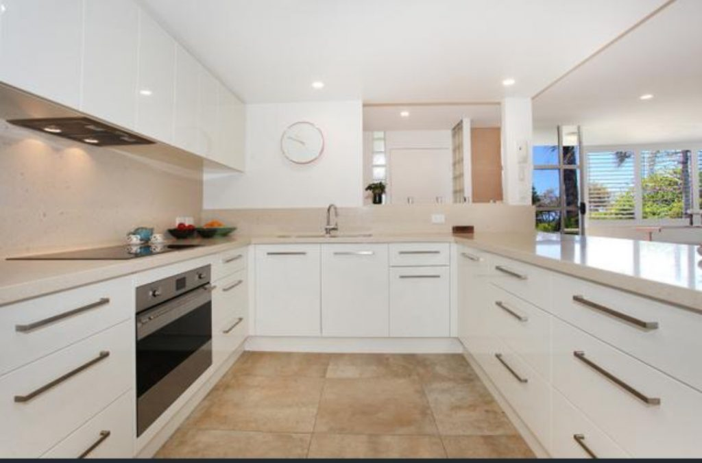 Upgraded electrical wiring for kitchen renovataion Caloundra
